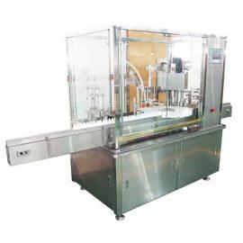 10ml-100ml Е-течна машина за пълнене и затваряне на бутилка с бутална помпа