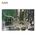 Линия за пълнене на бутилки с химически препарати / пенообразуващ препарат за пълнене с машина за серво пълнене