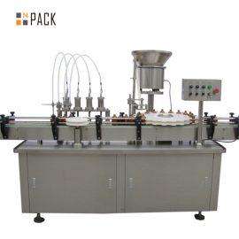 5-100ML вакуумна машина за пълнене и затваряне на парфюм голям капацитет с арматура за клапани