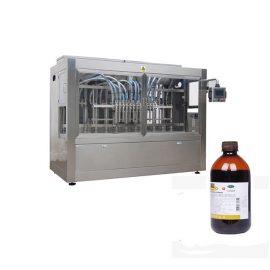 Линия за пълнене на бутилки с течна ветеринарна медицина / Линия на машина за корозивно течно пълнене