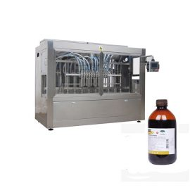Линия за пълнене на бутилки Agrochemica / Линия на машините за пълнене с течен пестицид с висока скорост