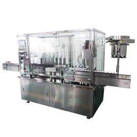 Автоматична машина за пълнене и затваряне с 8 глави сироп за фармацевтична производствена линия