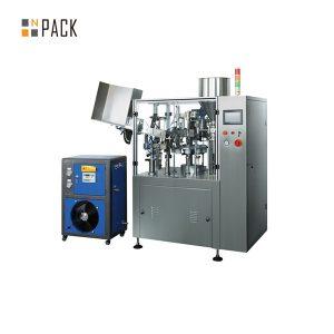 Машина за пълнене и запечатване на пластмасова метална паста за тръби