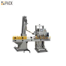 Пневматична пластмасова машина с капачки на Джери с линейна структура