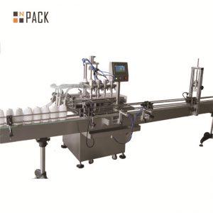 6.5kw Power Автоматична линия за пълнене с течност 20 - 50 бутилки / мин капацитет