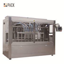 Антикорозионна автоматична машина за пълнене с течност с 12 дюзи за пълнене