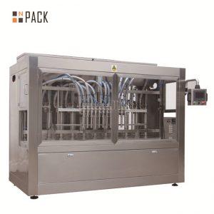 Автоматична машина за пълнене с висока течност 12 глава за 500ml - 5L тор