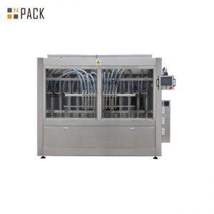 PLC Control автоматична машина за пълнене на паста за 250ML-5L течен сапун / лосион / шампоан