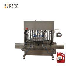 Високоточна машина за пълнене с масло в двигателя с 8 дюзи за механичната промишленост