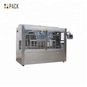0.5L-5L Антикорозионна линия за пълнене на бутилка за избелване с апликация с машина за етикетиране на капачки