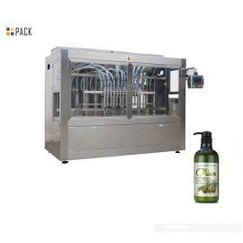 PLC Inline 8 глави машина за пълнене на мехлем за шампоан / душ гел / омекотител за тъкани