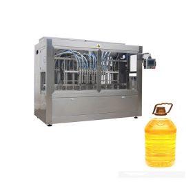 Индустриална автоматична течна линия за пълнене с бутална машина за пълнене и автоматичен етикет за бутилки