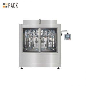 Високоточна автоматична машина за пълнене с течност Вертикален високотехнологичен пълнител за избелване / киселина