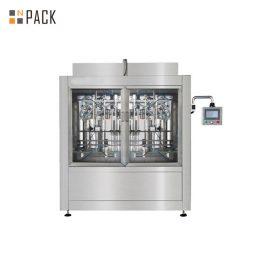 Линия за пълнене на спирачната течност със серво пълнител, въртяща се машина за затваряне, самозалепваща се машина за етикетиране