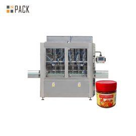 Машина за пълнене на сос за устойчивост на износване 304 неръждаема стомана