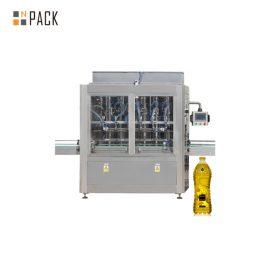 30-80 B / MIN автоматична машина с 8 бутални линейни сервоуправляващи бутала за пълнене за 0,5-5L