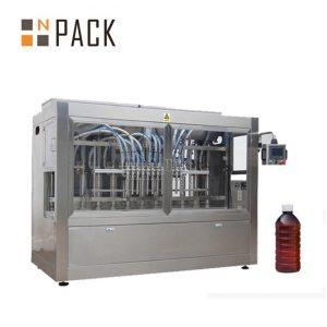Линейна машина 8 глави автоматична течност за пълнене на химикали / тор / пестициди