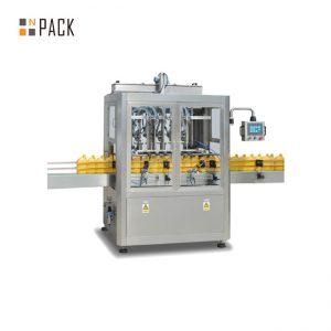 Лесна машина за пълнене на паста / 6 машина за пълнене на глава за шампоан