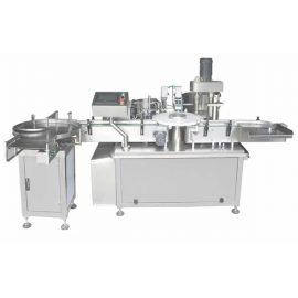Пълна автоматична машина за пълнене и затваряне на бутилка от стъкло / пластмасова бутилка 3ml-120ml