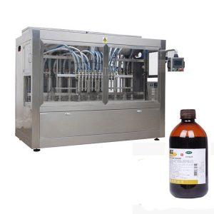Напълно автоматично управление на пестициди-бутилка за пълнене-Line