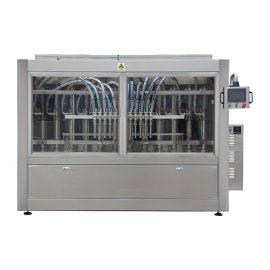 Линеен тип автоматична машина за пълнене с кокосово масло в буталото