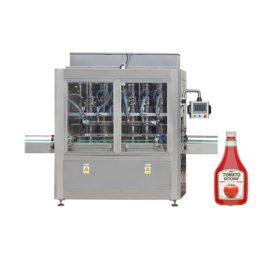 Автоматична машина за пълнене с бутални пасти за доматен сос
