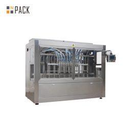 Автоматична машина за пълнене на бутилка с течност с производствена линия за поставяне на етикети