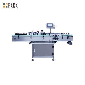 Автоматична машина за етикетиране на ролка стикер за кръгла стъклена / пластмасова бутилка