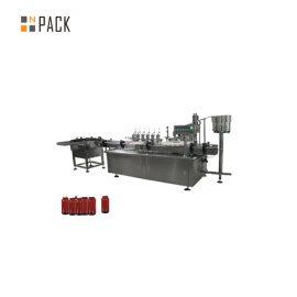 Машина за пълнене на паста за серво мотор, козметична машина за пълнене на 5 -100 г Jar
