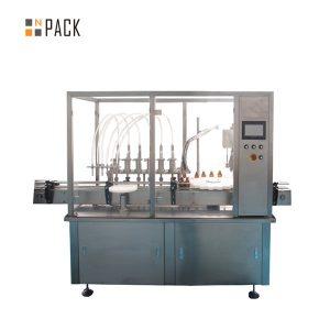 Производствена линия за пълнене със запушване на флакон E-Liquid