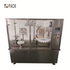 Автоматична машина за пълнене на бутилка с флакон с перисталтична помпа